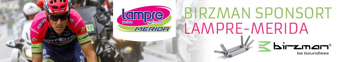 Birzman sponsor lampre merida cycle team